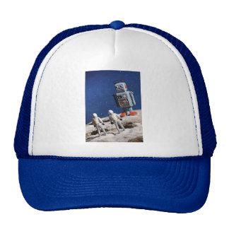Giant Robot on the Moon Trucker Hat