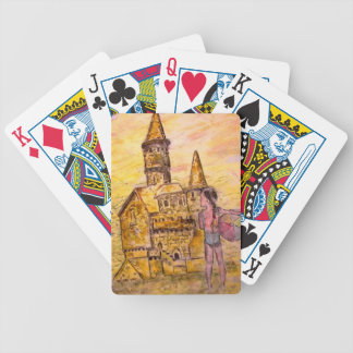 Giant Sandcastle Bicycle Playing Cards