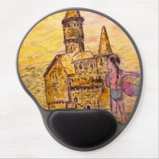 giant sandcastle gel mouse pad