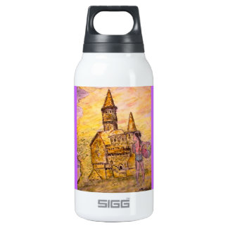giant sandcastle insulated water bottle
