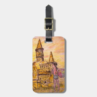 Giant Sandcastle Tag For Luggage