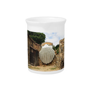 Giant scallop shell, El Camino Beverage Pitcher