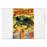 Giant Scary Fly Card