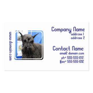 Giant Schnauzer Business Cards
