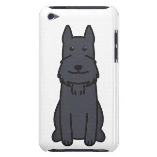 Giant Schnauzer Dog Cartoon Barely There iPod Cover