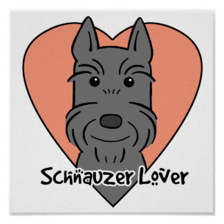 Giant Schnauzer Lover Print