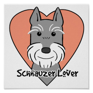 Giant Schnauzer Lover Poster