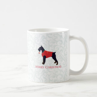Giant Schnauzer Merry Christmas Design Coffee Mug