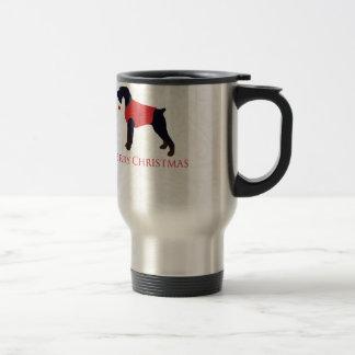 Giant Schnauzer Merry Christmas Design Travel Mug