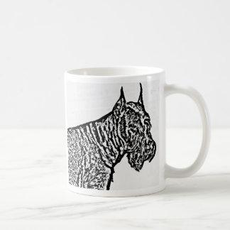 Giant Schnauzer portrait mug