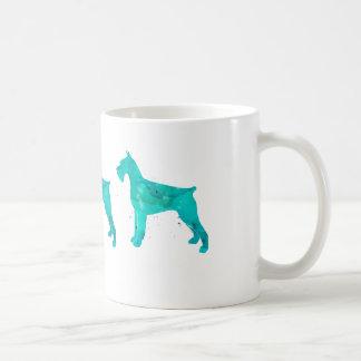 Giant Schnauzer Watercolor Design Coffee Mug