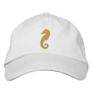 Giant Seahorse Embroidered Baseball Cap