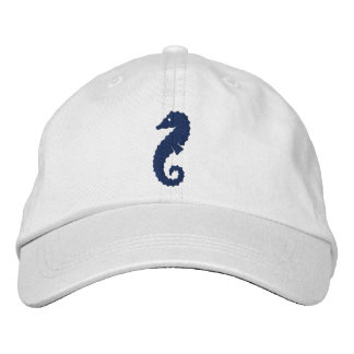 Giant Seahorse Embroidered Baseball Hat