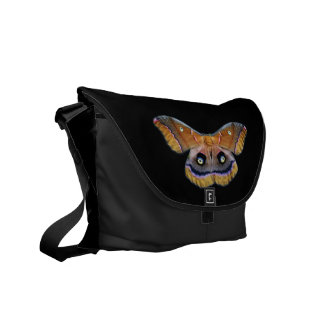 Giant Silk Moth Messenger Bag