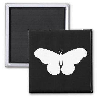 Giant Silkworm Moth 2 Inch Square Magnet