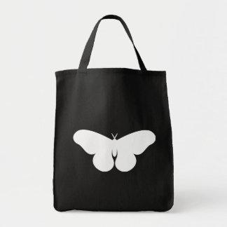 Giant Silkworm Moth Grocery Tote Bag