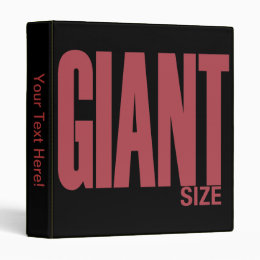 Giant Size 3 Ring Binder