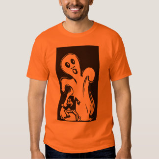 GIANT SIZE SCARY GHOST T-SHIRT