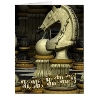 Giant Sized Chess Birthday Card