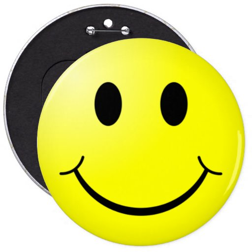 Giant Smiley Pin