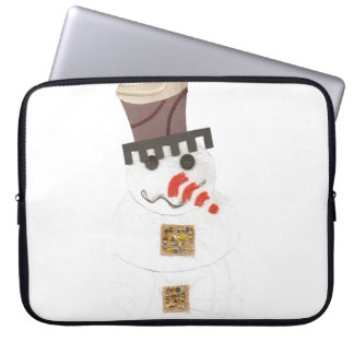 Giant Snowman 15 Inch Laptop Sleeve