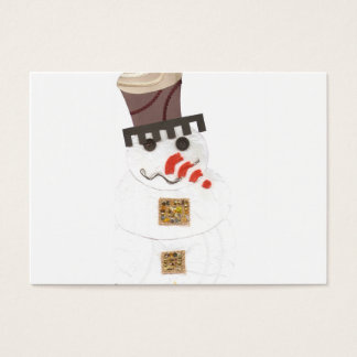 Giant Snowman Business Cards