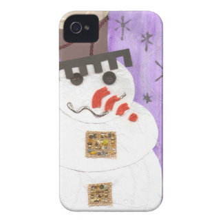 Giant Snowman I-Phone 4 Case