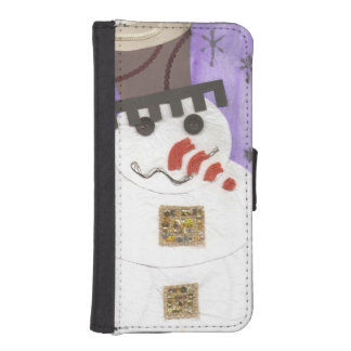 Giant Snowman I-Phone 5/5C Wallet