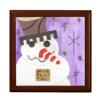 Giant Snowman Jewellery Box