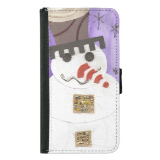 Giant Snowman Samsung Galaxy S5 Wallet