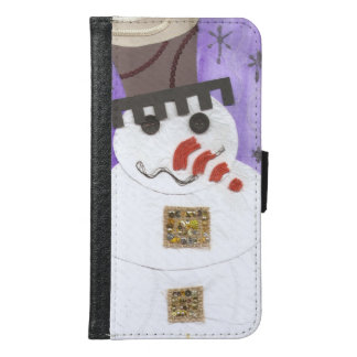 Giant Snowman Samsung Galaxy S6 Wallet
