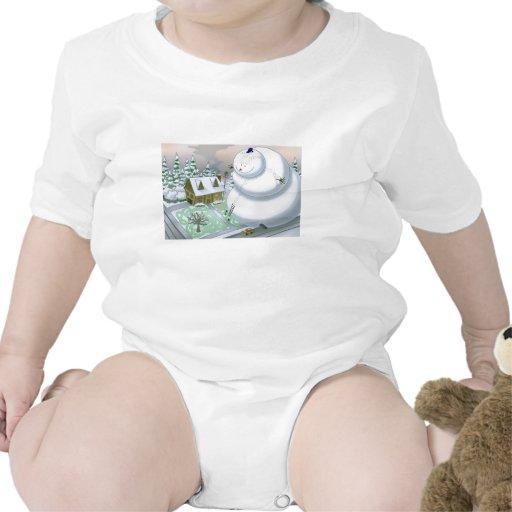 Giant Snowman T Shirt