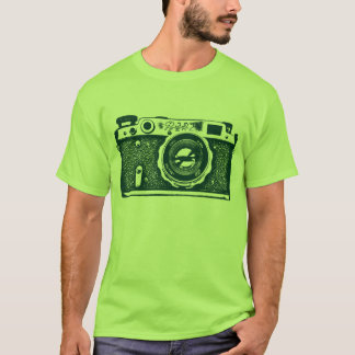 Giant Soviet Russian Camera - Dark Green T-Shirt