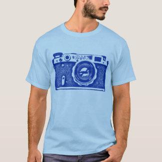 Giant Soviet Russian Camera - Navy Blue T-Shirt