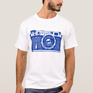 Giant Soviet Russian Camera - Navy Blue T-Shirt