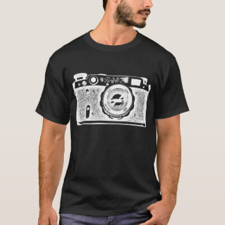 Giant Soviet Russian Camera - Negative T-Shirt