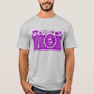 Giant Soviet Russian Camera - Purple T-Shirt
