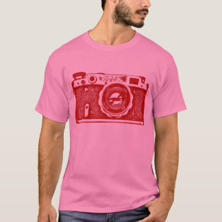 Giant Soviet Russian Camera - Ruby Red T-Shirt
