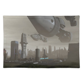 Giant Spacecraft Arrival 2 Placemat