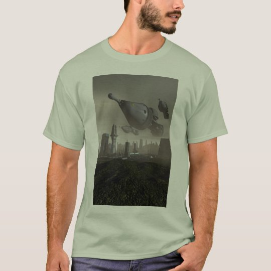 Giant Spacecraft Arrival 2 T-Shirt