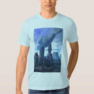 Giant Spacecraft Arrival T-Shirt