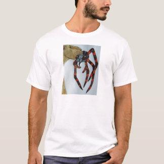 Giant spider fights lioness.JPG T-Shirt
