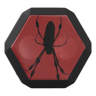 Giant Spider orb weaver black red speaker