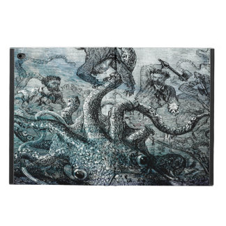 Giant squid attacking captain Nemo. Powis iPad Air 2 Case