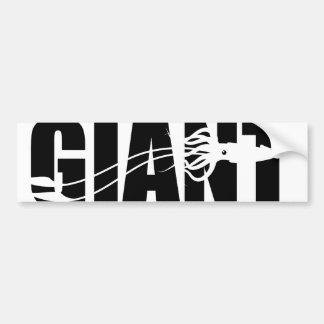 Giant Squid Car Bumper Sticker