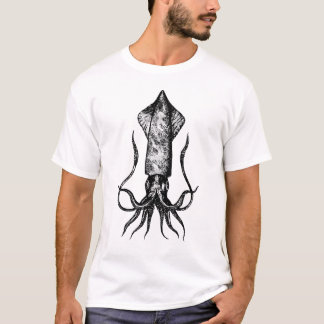 Giant Squid Deep in the Sea T-Shirt