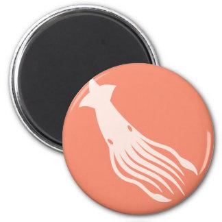 Giant Squid Icon Magnet