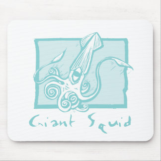 Giant Squid Mouse Pad
