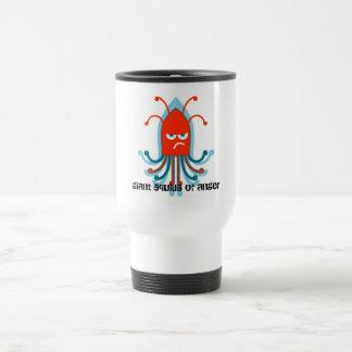Giant Squid of Anger Travel Mug