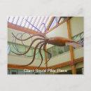 Giant Squid Pike Place Market Seattle, WA Postcard postcard